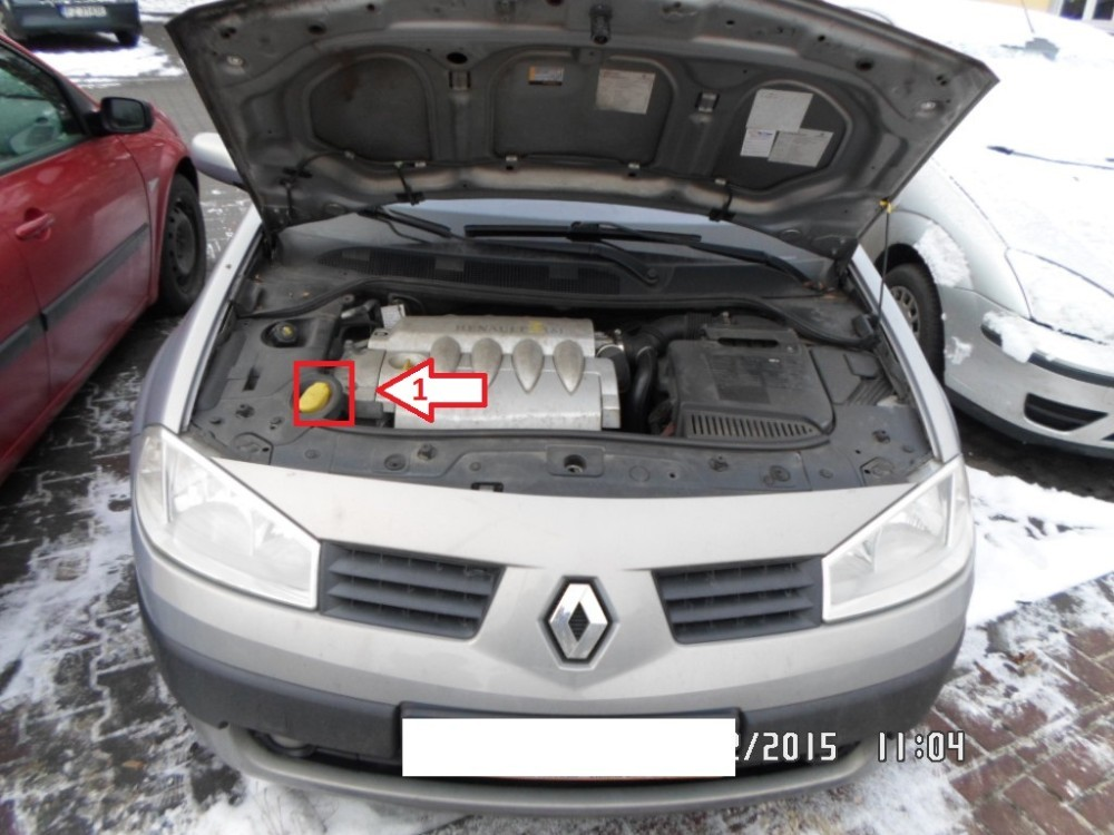 Renault Megane 2002 2008 Vin Location Com Where Is