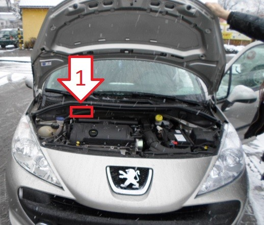 Peugeot 207 2007 2012 Vin Location Com Where Is Vin