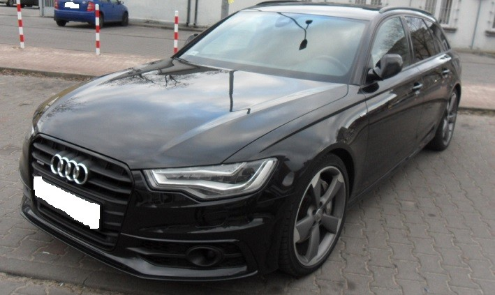 audi a6 2011 2013 vin where is vin number find chassis number. Black Bedroom Furniture Sets. Home Design Ideas