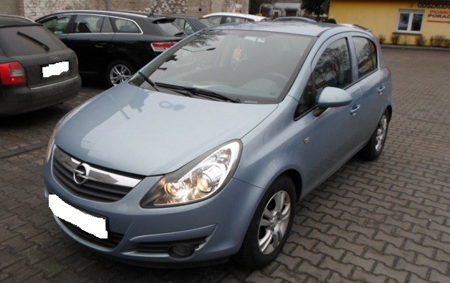 opel corsa 2006 2010 vin where is vin number find chassis number. Black Bedroom Furniture Sets. Home Design Ideas