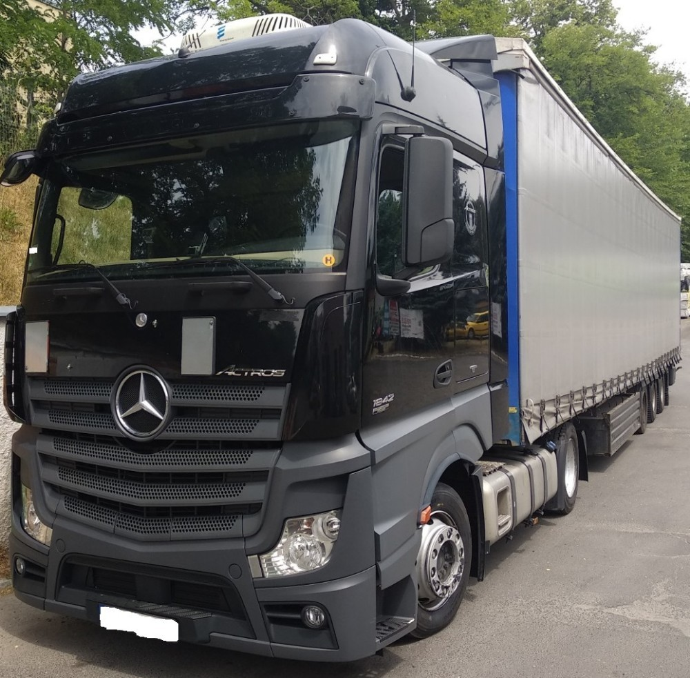 Mercedes Benz O Vin Decoder: Mercedes-Benz Actros (2011-2018)
