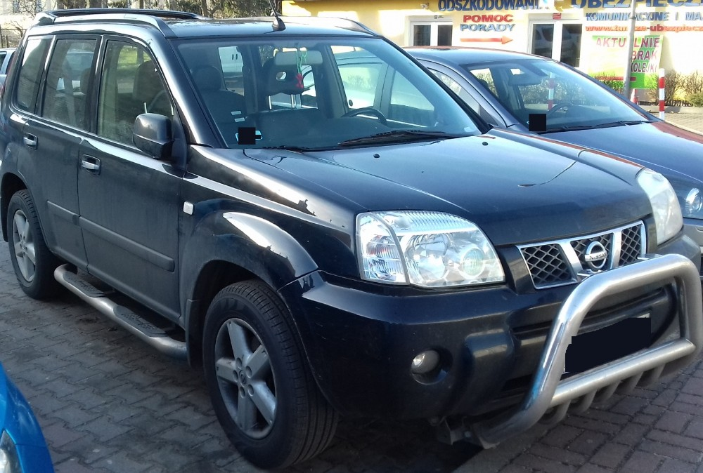 Nissan X-Trail (2001-2007) - Where is VIN Number | Find ...