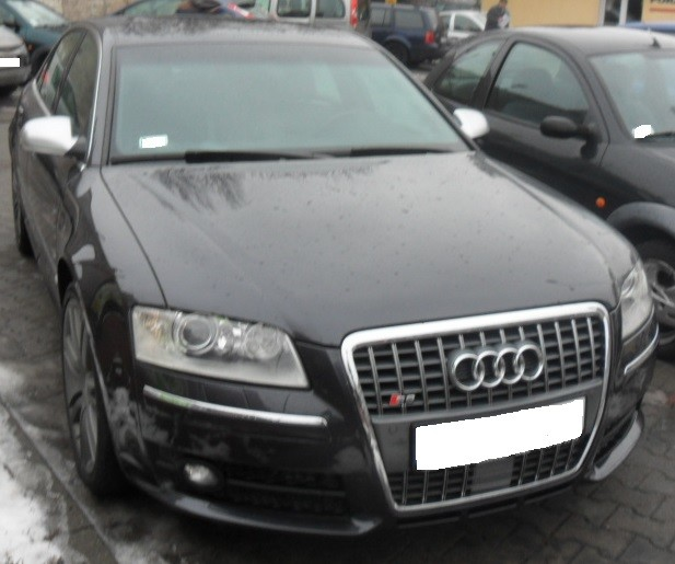 Audi A8 (2007-2010) - Where Is VIN Number