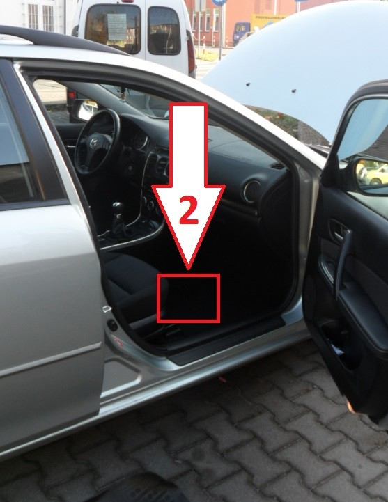 Mazda 6 20052007 Where Is Vin Number Find Chassis Numberrhvinlocation: Mazda 6 Vin Location At Gmaili.net