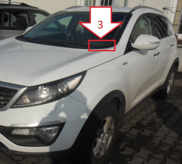 Kia Sportage 2010 2013 Where Is Vin Number Find Chassis Number
