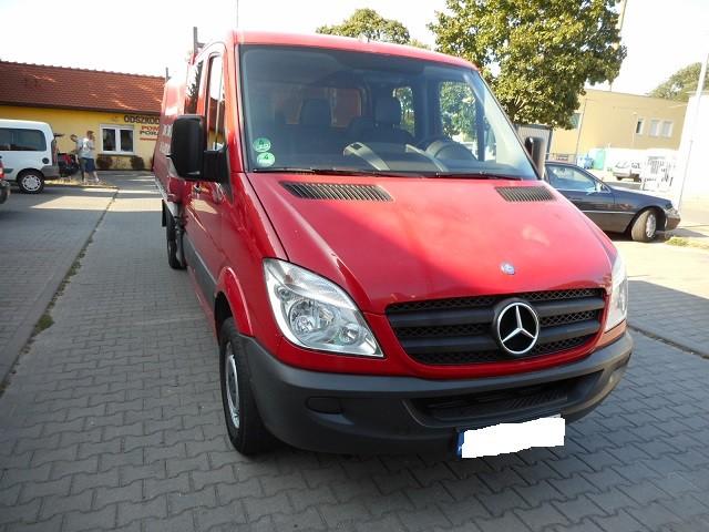 Mercedes benz sprinter 313 2006 2009 where is vin for Mercedes benz number
