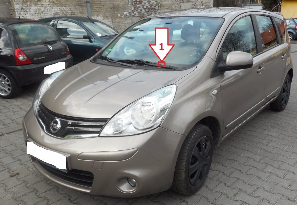 Nissan Note (2006-2013) - Where is VIN Number | Find ...