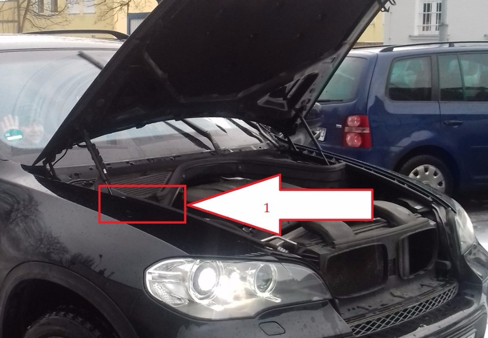 Bmw X5 2010 2013 Where Is Vin Number Find Chassis Number