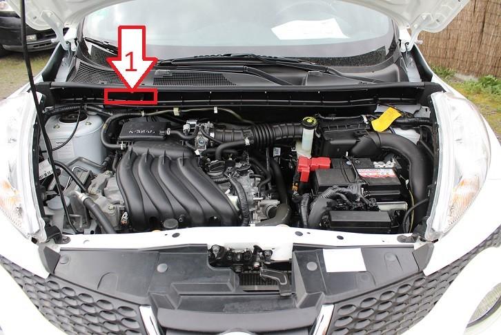 Nissan Juke (2010-2013) - Where is VIN Number | Find ...