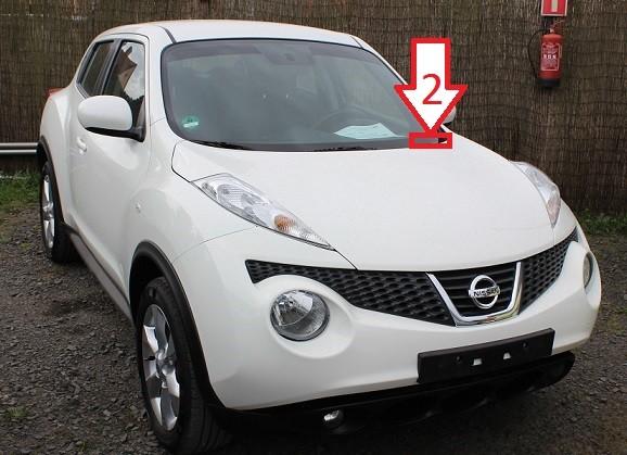 Car Vin Check >> Nissan Juke (2010-2013) - Where is VIN Number | Find ...