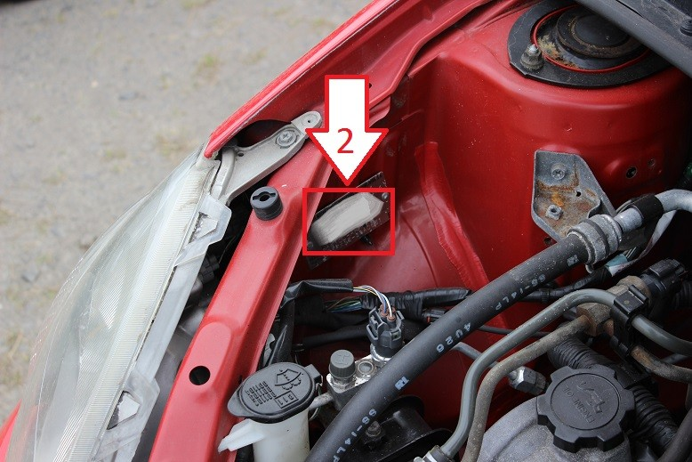 Toyota Yaris (1999-2003) - Where is VIN Number | Find ...