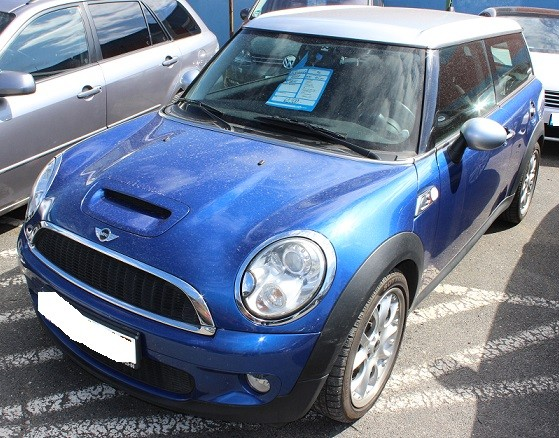 mini cooper clubman 2007 2014 where is vin number find chassis number