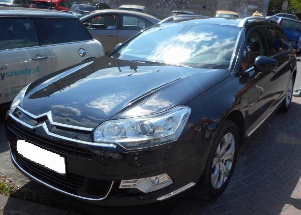 citroen c5 2008 2015 where is vin number find chassis number. Black Bedroom Furniture Sets. Home Design Ideas