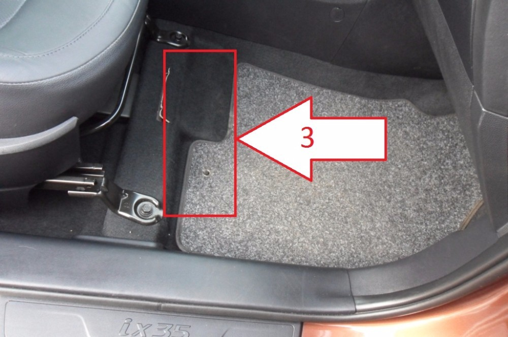 How To Check A Vin Number Free >> Hyundai ix35 (2013-2015) - Where is VIN Number | Find Chassis Number