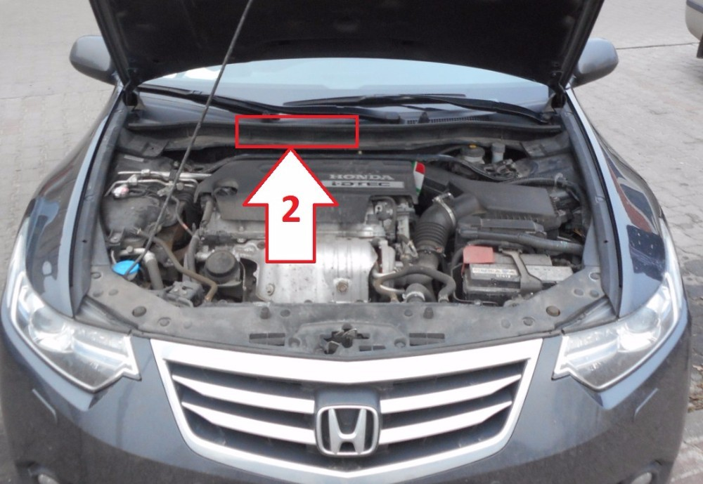 Where To Find Vin Number On Honda Accord >> Honda Accord 2011 2015 Where Is Vin Number Find Chassis Number