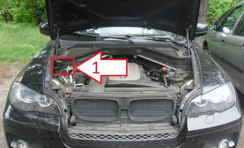 Where Is Vin Number Bmw X5 >> Bmw X5 2006 2010 Where Is Vin Number Find Chassis Number
