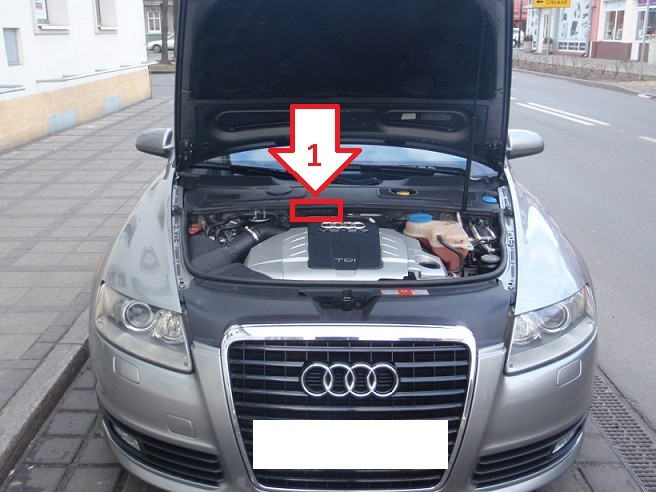 how to read audi chassis number