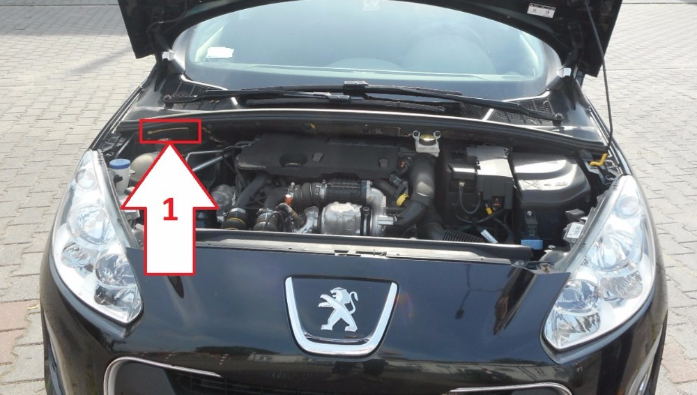 Vehicle Identification Number Check >> Peugeot 308 (2011-2013) - Where is VIN Number | Find Chassis Number